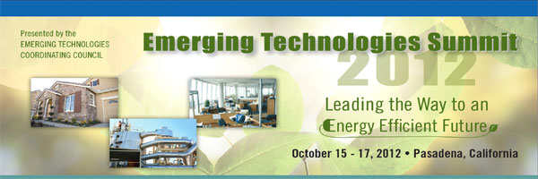 Emerging Technologies Summit Presentation